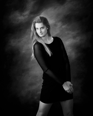 Any of these work best for your classic portrait with formal or casual clothing styles a long sleeved black top or complete outfit is always a strong